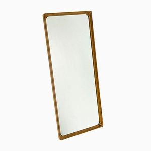 Specchio in teak di Glasmäster Markaryd, anni '60