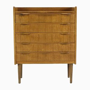 Danish Teak Chest of Drawers by Knud Nielsen of Solution Furniture Factory, 1960s