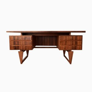 Mid-Century Danish Rosewood Executive Desk by Illum Wikkelsø, 1960s