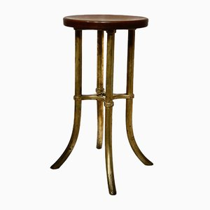 Bakelite & Brass Surgical Stool by J. Wiess & Son for J. Wiess & Son, 1907