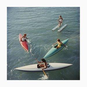Übergroßer Lake Tahoe Trip O C Druck in Weiß von Slim Aarons
