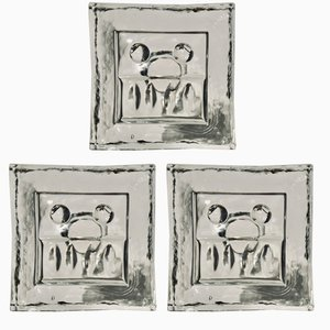 Kerzenständer von Bo Borgström für Åseda, 1960er, 3er Set