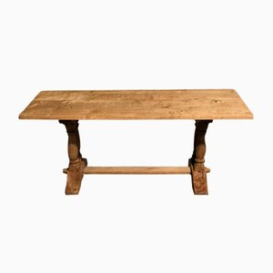 French Oak Refectory Farmhouse Dining Table