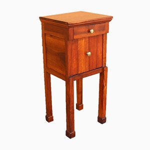 19th-Century Italian Empire Walnut Nightstand