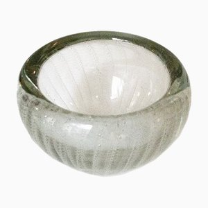 Italian Murano Glass Bowl in the Style of Vistosi, 1960s