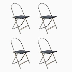 April Folding Chairs by Gae Aulenti for Zanotta, 1964, Set of 4