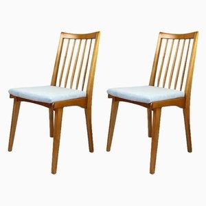 Vintage Stühle in Türkis, 1970er, 2er Set
