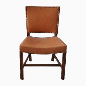 Model 3758 Mahogany Barcelona Chair by Kaare Klint for Rud. Rasmussen, 1930s