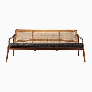 Teak Sofa by Hartmut Lohmeyer for Wilkhahn, 1950s