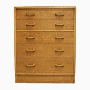 Oak Tallboy Dresser from G-Plan, 1960s