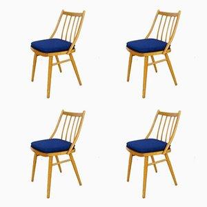 Chaises de Salon, 1960s, Set de 4