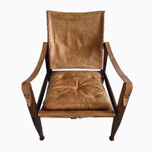 Safari Lounge Chair by Kaare Klint for Rud. Rasmussen, 1950s