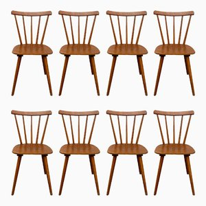 Scandinavian Dining Chairs, 1960s, Set of 8