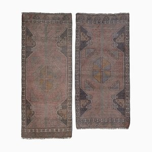 Turkish Anatolian Scatter Rugs, 1970s, Set of 2