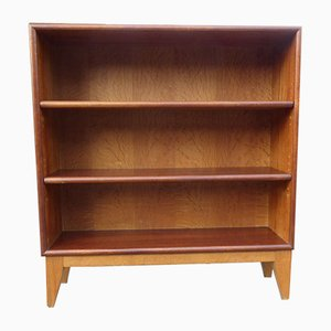 Small Danish Wood Bookcase, 1950s