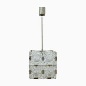 Cube Ceiling Lamp from Kamenický Šenov, 1970s