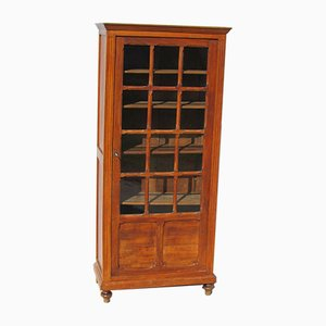 Small Poplar Bookcase Showcase, 1920s