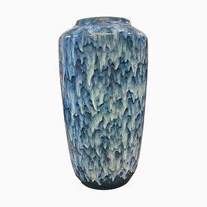 Große Deutsche Keramik Fat Lava Vase von Scheurich, 1970er