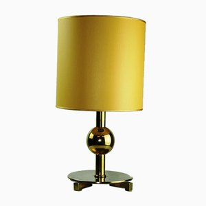 Art Deco Brass Table Lamp, 1930s