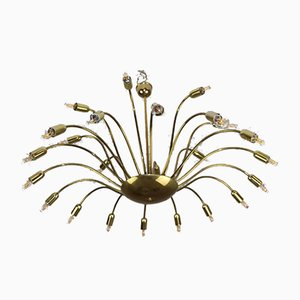 24-Flame Chandelier by Rupert Nikoll for Rupert Nikoll, 1950s