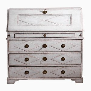 Swedish Chest of Drawers with Inside Drawers, Locks & Key, 1770s