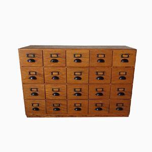 Industrial Pinewood Workshop Cabinet