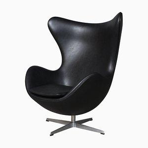 Mid-Century Egg Sessel von Arne Jacobsen für Fritz Hansen