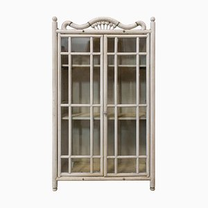 Small French Beveled Glass Hanging Cabinet, 1920s