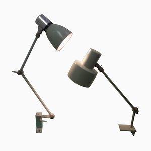 Verstellbare Industrielle Tischlampe, 1960er