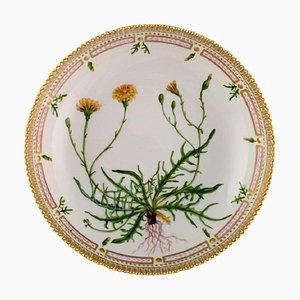 Große Royal Flora Flora Danica Porzellanschale Modellnummer 20/3505, 1960er