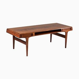 Scandinavian Rosewood Coffee Table by Johannes Andersen, 1960s