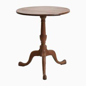 Tavolo antico con ripiano ribaltabile