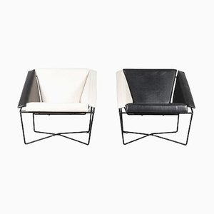 Van Speyk Chairs by Rob Eckhardt for Pastoe, Netherlands, 1984, Set of 2