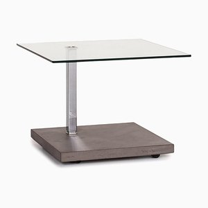 Glass and Concrete Look K926 Jacky Coffee Table from Ronald Schmitt