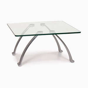 Glass and Metal Coffee Table from Rolf Benz