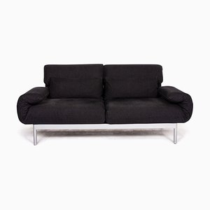 Anthracite Fabric 2-Seat Plura Sofa from Rolf Benz