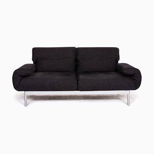 Anthrazitgrauer 2-Sitzer Plura Sofa von Rolf Benz