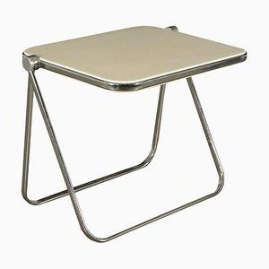 Italian Plastic & Chromed Table by G. Piretti for Anonima Castelli, 1960s