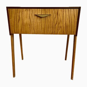 Wooden Chest of Drawers Secretaire with Folding, 1970s