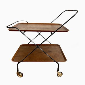 Mid-Century Teak Serving Trolley, 1950s