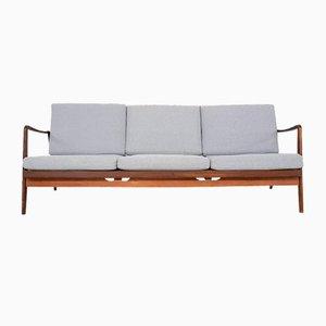 Canapé-Lit Moderne Scandinave en Teck, 1960s