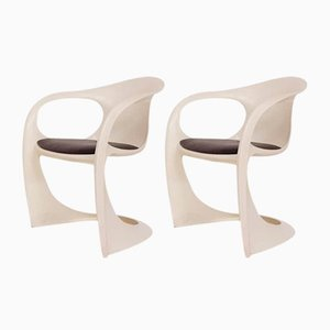 Casalino Dining Chairs by Alexander Begge for Casala, 1970s, Set of 2