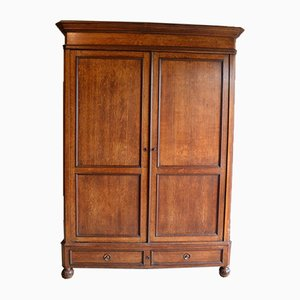 Large Antique Oak Cabinet