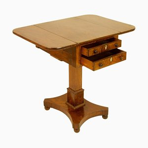 Small English Regency Pembroke Table, 1840s