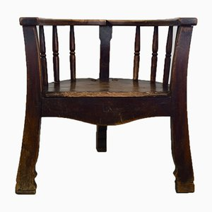 Antiker niederländischer Captain's Chair