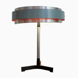 Mid-Century Hungarian Round Table Lamp in the style of Jo Hammerburg