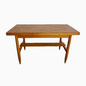 Mid-Century Scandinavian Brown Coffee Table