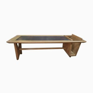 Mid-Century Oak Coffee Table by Guillerme & Chambron for Votre Maison, 1950s