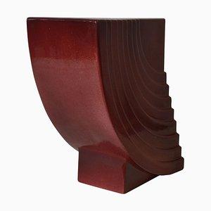 Jarrón de cerámica modelo Yantra 31 de Ettore Sottsass para Poltronova, 1969