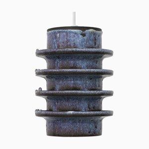 Danish Ceramic Fat Lava Pendant Lamp